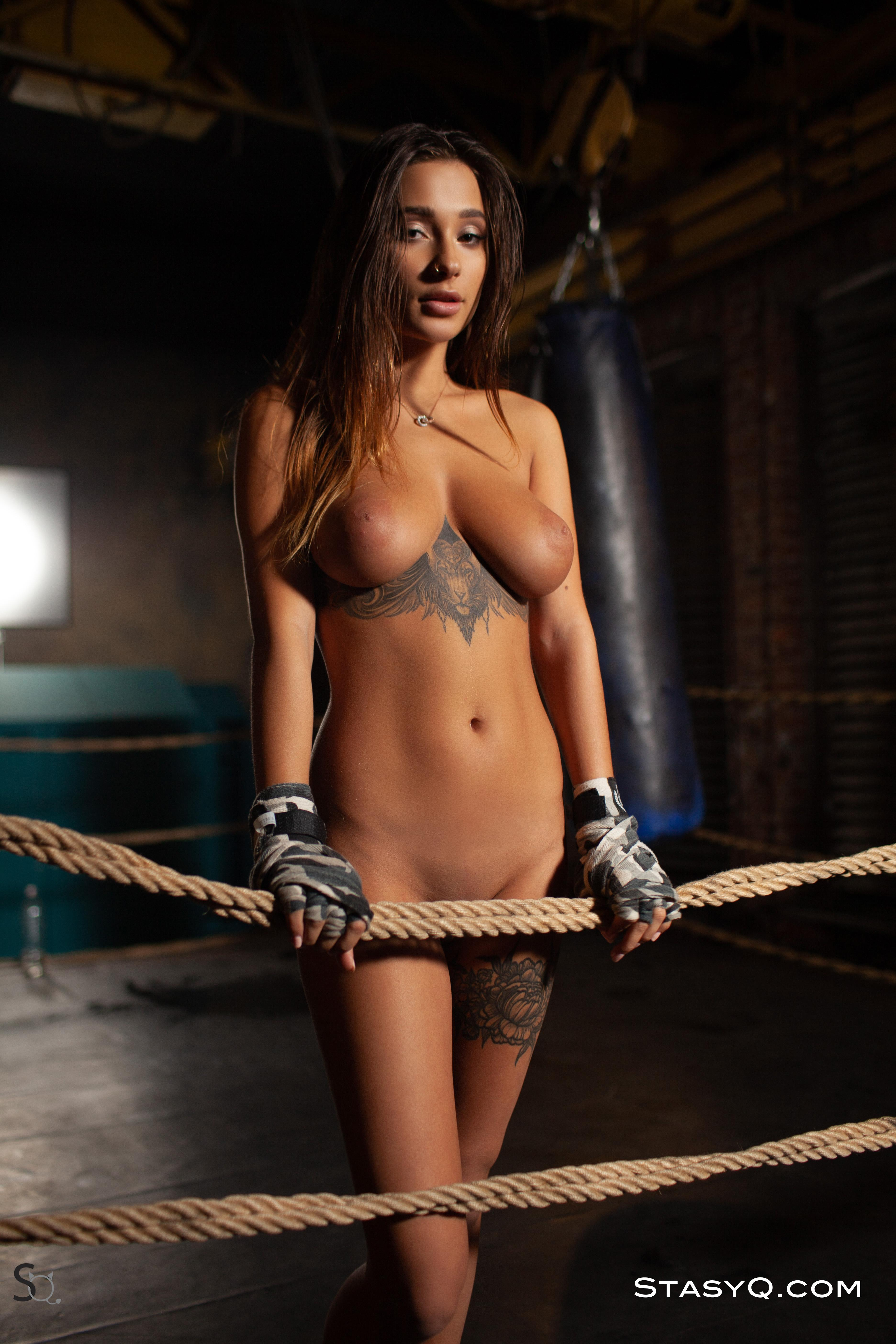 Liya Silver Makes Her Opponents Equally Hard And Scared