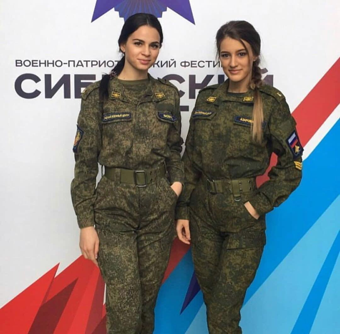 There's Something About Russian Girls In Uniform