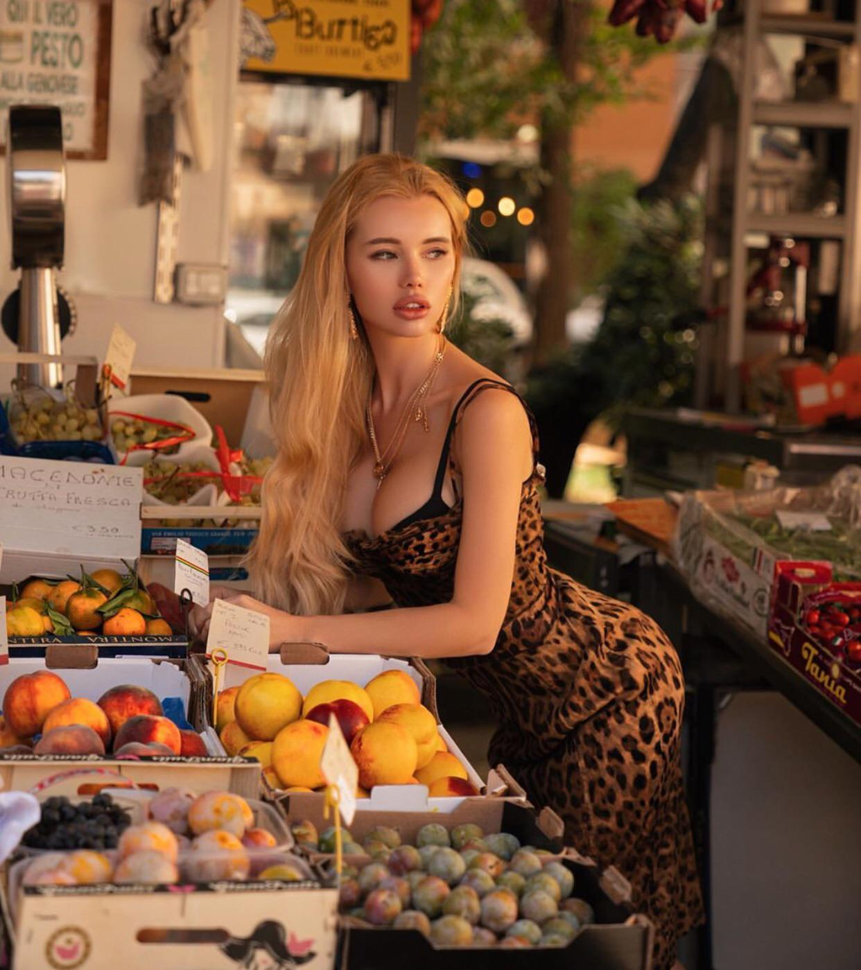 Peach Orange And Olya's Melons