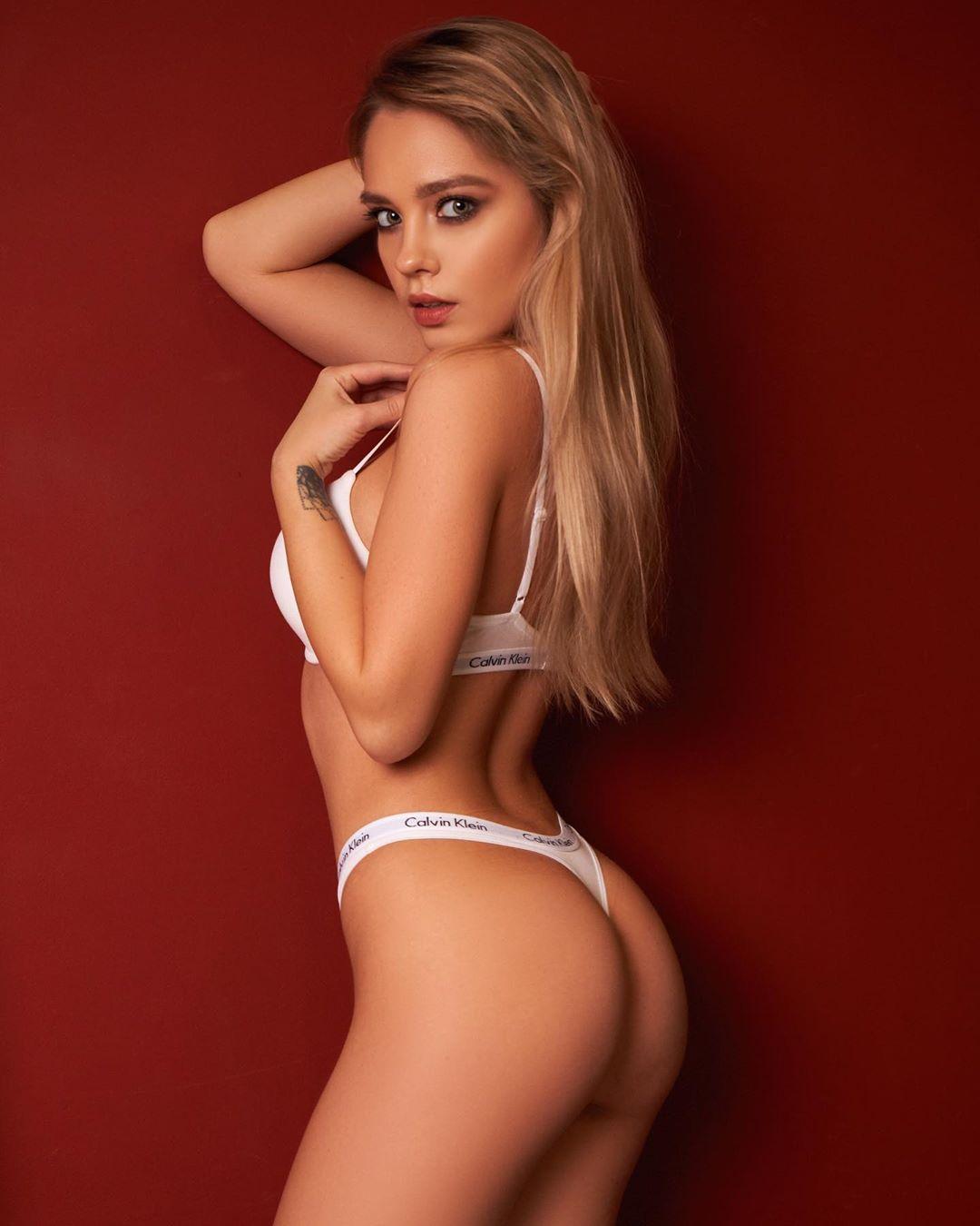 Katya In White