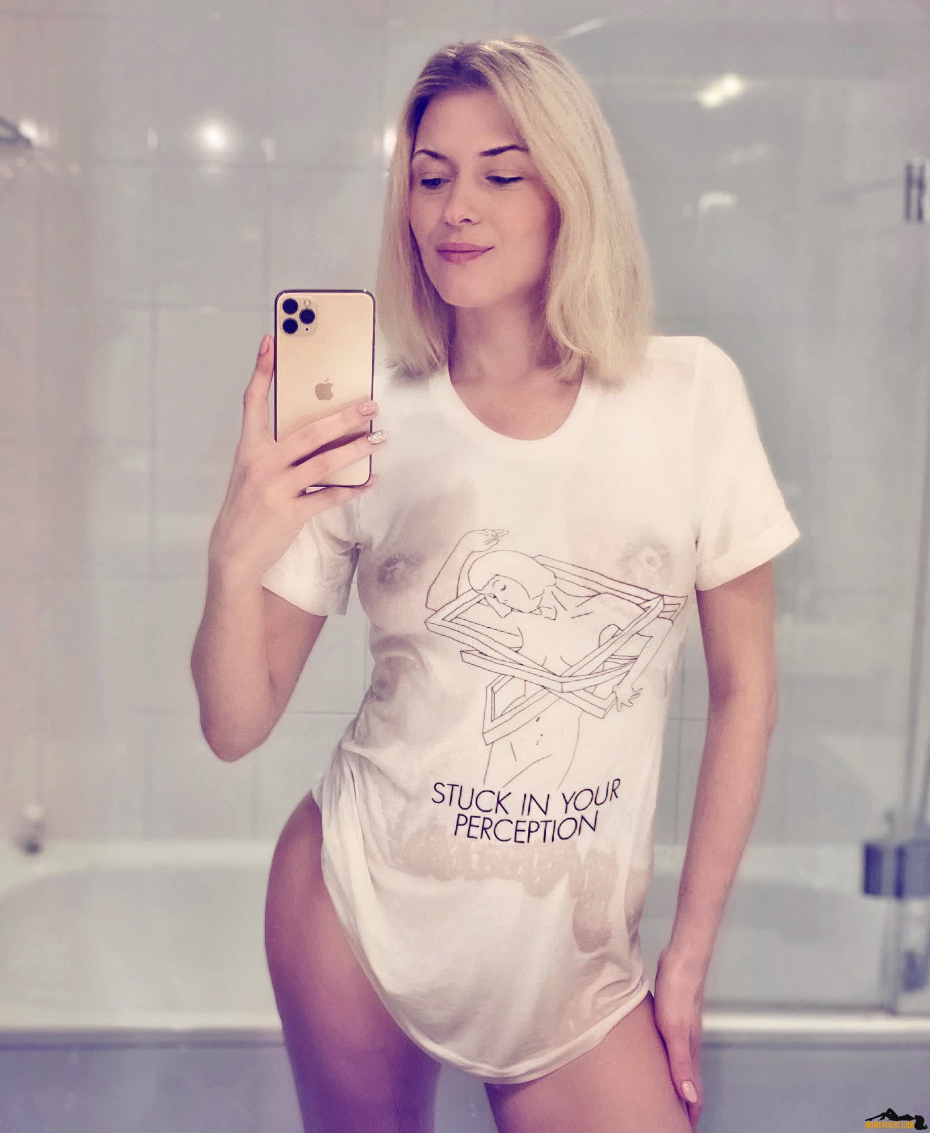 Caption Not Needed Tshirt Says It All . I'm Looking For A Partner, Follow The Instructions On Momentgirl.com To Contact Me! Tiktok Julypussy