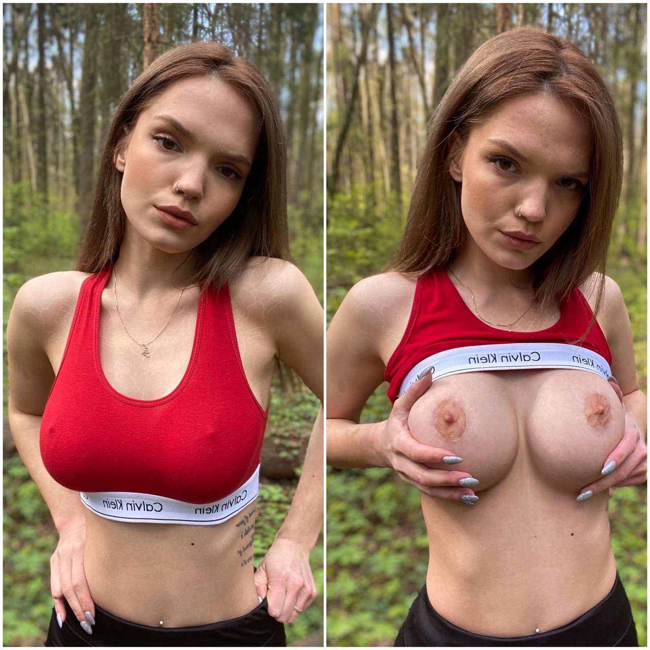 Russian Russian Girl In The Russian Forest ^^