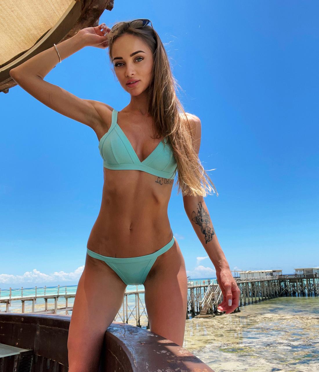 Russian Petite In Bikini
