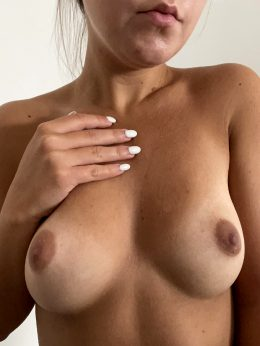 Did This Pic Right After I Woke Up Just To Show You My Cute Tits