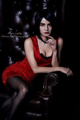 Kanra_cosplay As Ada Wong