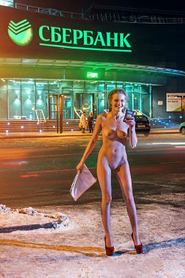 Liana Klevtsova – Irkutsk, Russia – December 26, 2014 – Ph. Alexandra Timofeeva – Outside Temp -40°C