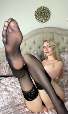 Lick My Nylon Feet 😋