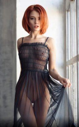 Marta Gromova 🖤 #REDHEADS