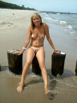 Nude At The Beach 019
