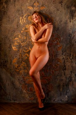 Olga Kobzar Showoff Her Beautiful Naked Body