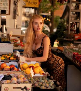 Peach Orange And Olya's Melons