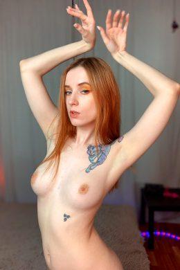 Sexy Redhead Harley Ready