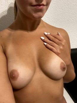 Would You Cover My Tits With Your Cum?