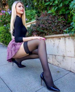 You Guys Like My Short Skirt? 😘