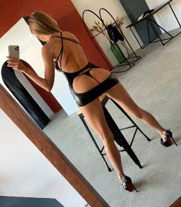 Yulchik Showing Off Her Backside…