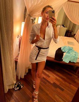 Yulia In Sexy Dress